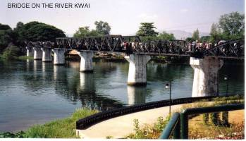 Photo of the Bridge over the River Kwai